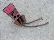 Farmall 560 Ih Rc Tractor Seat Base Mounting Bracket And Rear Hydraulic Lines