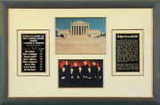 The Warren E. Burger Court - Autographed Signed Photograph With Co-signers