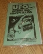 Magic Trick - The Ufo Helicopter Card Ufo Whirling Card Houdini Street Magician