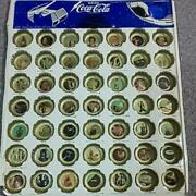Coca-cola Star Wars Crown Cap Bottle Cap 49 Types With Mount Antique From Japan
