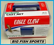 3' Eagle Claw Non-lead Bait Fish Casting Net New 10010-003 Free Usa Shipping