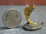 Dollhouse Miniature Snake Cobra Animals 112 One Inch Scale A47 Dollys Gallery