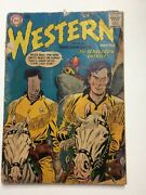 Dc Silver Age All Star Western Comics Lot 1950s Vintage Collectibles Rough