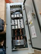 Ge A-series Ii Panelboard Enclosure Nema 3r And 12 Cat Ab493 With Breakers
