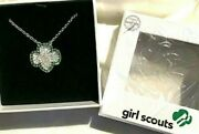 New Necklace Crystal Girl Scout Leader Christmas Gift Org. Price=115