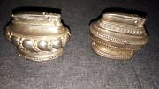 2 Vintage Table Top Lighters 1 Queen Anne England 1 Ronson Usa As Is