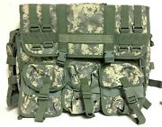 Tactical/ Military Digital Camo Equipment Bag, Lots Of Inserts Laptop/tablet