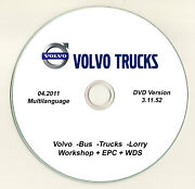 2012 Volvo Fh12 460 Truck And Engine Parts Catalog Shop Service Repair Manual Dvd
