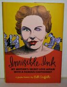Signed Bill Griffith Invisible Ink 1st Printing 2015 Fantagraphics Gn Comics