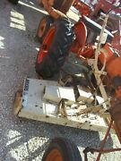 Allis Chalmers B Ac Tractor Woods L306 Belly Mower And Hand Lift Modified To Fit