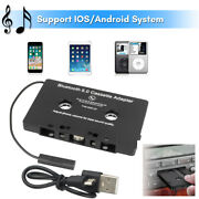 Wireless Bluetooth 5.0 Car Cassette Receiver Adapter For Iphone Android Samsung