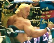 Wwe Billy Graham Hand Signed Autographed 8x10 Photo With Beckett Coa Rare 12
