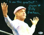 Wwe Billy Graham Hand Signed Autographed 8x10 Photo With Beckett Coa Rare 17