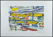 Roy Lichtenstein The River Signed Lithograph Limited 81/150