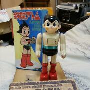 Vintage Astro Boy Tinplate Out Of Print / Edition Made In Japan