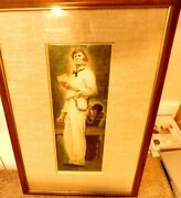 Lincoln For The Defense-norman Rockwell-limited Edition Artist Proof-framed Mg