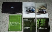 2011 Ford Edge Owner Operator User Guide Manual Se Sel Limited Sport 3.5l And 3.7l