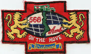 Vietnamese Made 566th Ambulance On The Move Vietnam Pocket Patch