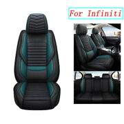 Waterproof Pu Leather Seat Covers Cushion For Infiniti Q50 Qx60 Qx50fx35 Q70 Qx7