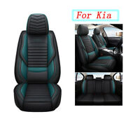 Pu Leather Car Seat Covers Set For Car Suv Truck Universal Fit Kia Soul Forte