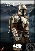 Hot Toy 16 Scale Tms014 Star Wars Mandalorian And Children's Doll Set Toy Model