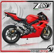 Zard Conical Steel Lateral Racing Full Exhaust Triumph Daytona 675 /r 2009 09