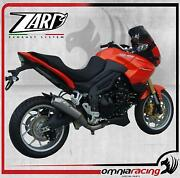 Zard Conical Low Slip On Steel Racing Exhaust For Triumph Tiger 1050 2007 07