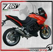 Zard Conical Low Steel Road Street Legal Exhaust For Triumph Tiger 1050 07 12