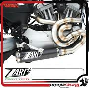 Zard Full Exhaust Carbon Silencer Racing/titanium Headers Hd Xr 1200