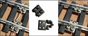 50 G Scale Stainless Steel Track Locks - The Best Made - Fits Lgb, Usa, Bachmann