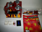 Lego Set Lot Minecraft The Nether 21106 As Shown