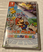 Paper Mario The Origami King -- Nintendo Switch, 2020 [brand New]