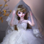Xmas Gift 1/3 Bjd Doll Princess Bride 60cm Girl Toys With Full Set Accessories