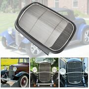 For 1932 Ford Model B/bb/18 Steel Front Grille Shell+stainless Grill Insert New