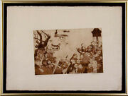 Charles Bragg - Procession Etching Signed Proof Fourth State Circa 1965