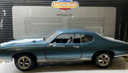 American Muscle 1969 Pontiac Gto 1/18 Scale Limited Edition Really Cool