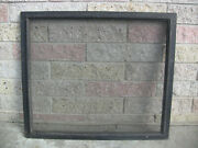 Antique Wooden Window Screen Farmhouse Decor Architectural Salvage 1900s 3 Avail