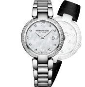 Raymond Weil Ladies And039shineand039 Diamond Watch With Mop Dial 1600-sts-00995