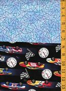 7.28 Yds Cotton Quilt Fabric Novelty Bundle Grp 3 Camping Farm Grilling Pastries