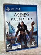 Assassins Creed Valhalla Sony Playstation 4, 2020 Ps4 Rated M Action Adventure