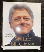 My Life By Bill Clinton 2004 Audio Book 6 Discs, 6 1/2 Hours Cd Audiobook