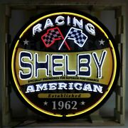Neon Sign - Huge Shelby American Racing 36 Ships Free To Usa Discounted