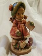 Anri Woodcarvings Sarah Kay 6 Special Delivery 518/4000