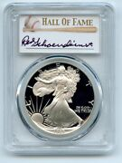 1989 S 1 Proof American Silver Eagle 1oz Pcgs Pr70dcam Red Schoendienst