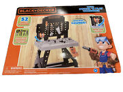Black+decker Jr. Mega Power N' Play Workbench With Realistic Sounds - 52 Too