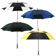 68 In Extra Large Automatic Golf Umbrella Double Canopy Vented Umbrella