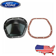 Rear Differential Cover For Ford F-150 F-250 F-350 Super Duty W/10.25 Ring Gear
