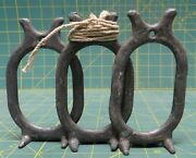 3 Ideal No. 8 8oz Solid Lead Duck Goose Decoy Weight Anchor