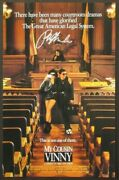 Ralph Macchio Signed My Cousin Vinny Autograph Mini Movie Poster Photo 11x17 Psa