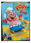 Pop The Pig Game Family Game By Goliath Games30546 For 2-6 Players Ages 4 And Up